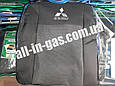 """Чехлы на сиденья Mitsubishi Lancer 9 2003-2008 / автомобильные чехлы Митсубиси Лансер 9 """"Prestige"""" стандарт, фото 2"""