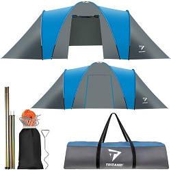 Палатка туристическая на 6 человек - 210х200