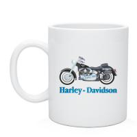 Чашка с нанесением Харлей, печать на чашках и кружках, деколь