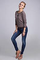 Комфортный шерстяной джемпер в модном и современном стиле, фото 1