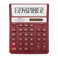 /Калькулятор BS777RD 12р 2пит красный