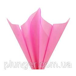 Папірусний папір для пакування кондитерських виробів, 50*65 см,10 листків Розовый