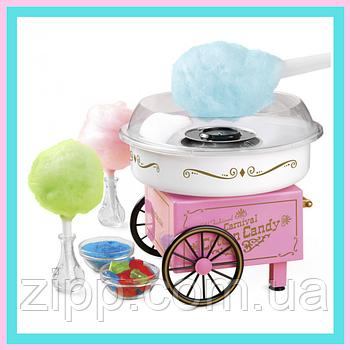Аппарат для приготовления сахарной ваты Candy Maker Машинка для сахарной ваты Апарат для сладкой ваты