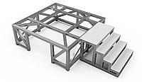 Опорная рама для бетоносмесителя 1 м