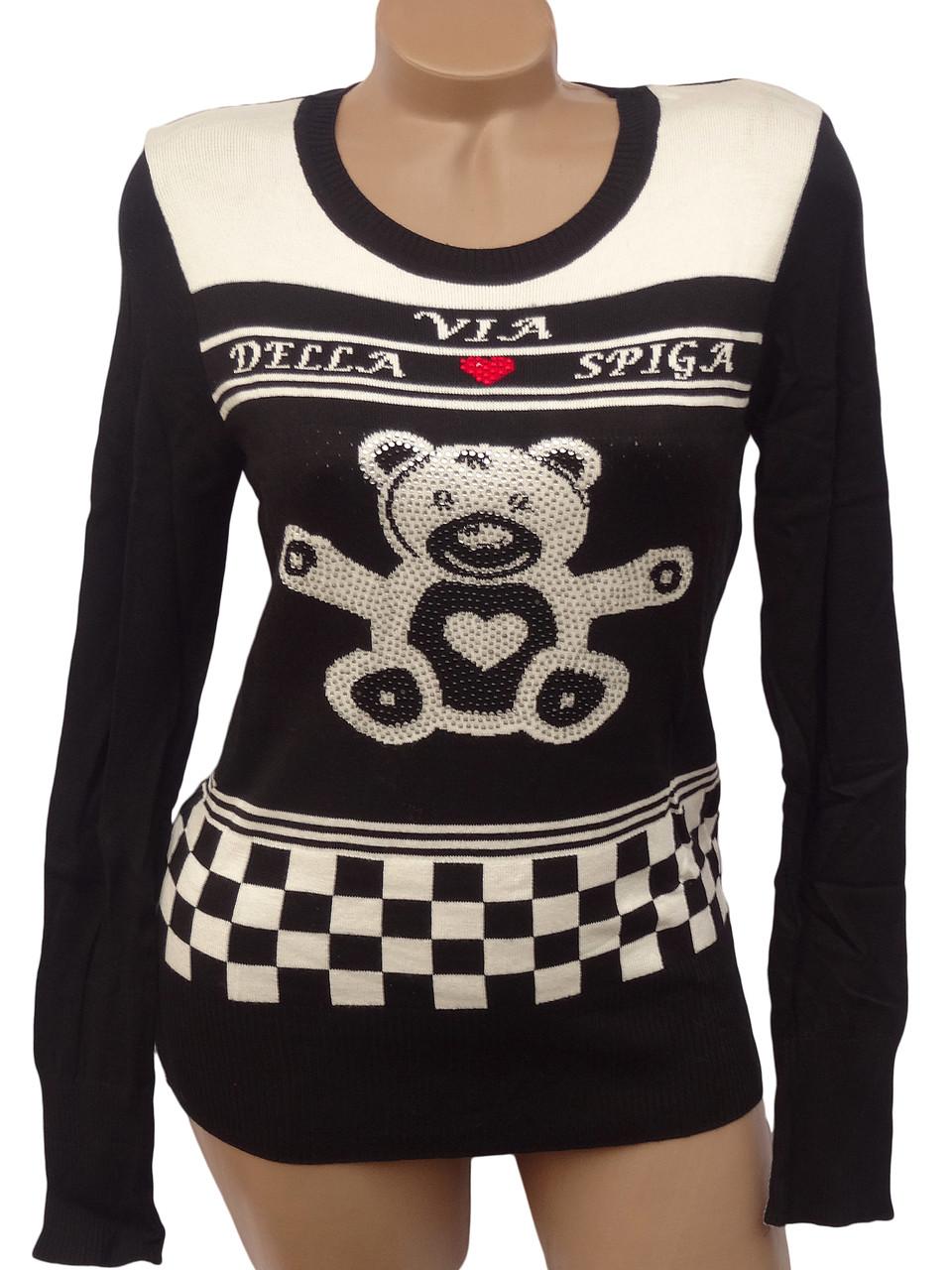 Молодежный пуловер Медвежонок