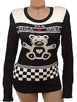 Молодежный пуловер Медвежонок, фото 1