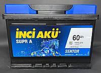 Акумулятор Inci Aku SuprA 60Ah/540A R+ L2 060 054 013 Акумулятор (Инджи Акю) АКБ Туреччина ПДВ