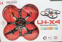 Квадрокоптер  LH-X4  с огнями и защитой лопастей