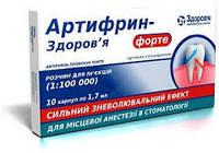 Как происходит ценообразование на артифрин и другие анестетики для стоматологии