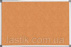$Доска пробковая 60x90 см алюминиевая рамка