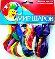 Набор воздушных шариков Мир шаров Круглые и перламутр (285)