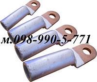 Наконечники без изоляции медно-алюминиевые типа DTL - 25