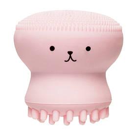Силіконова щіточка для очищення пір Etude House My Beauty Tool Exfoliating Jellyfish Silicone Brush 1 шт