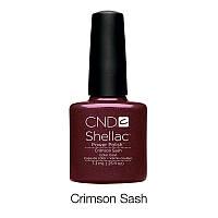 CND Shellac Crimson Sash / вишневый, 7,3 мл
