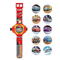 Наручные часы Cars с проектором на 10 изображений (CARJ13)
