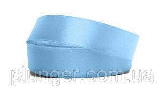 Стрічка атласна для пакування, 2,5 см Голубой