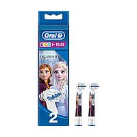 Насадки 2 шт Oral-B Stages Kids Frozen на детские зубные щетки для девочек