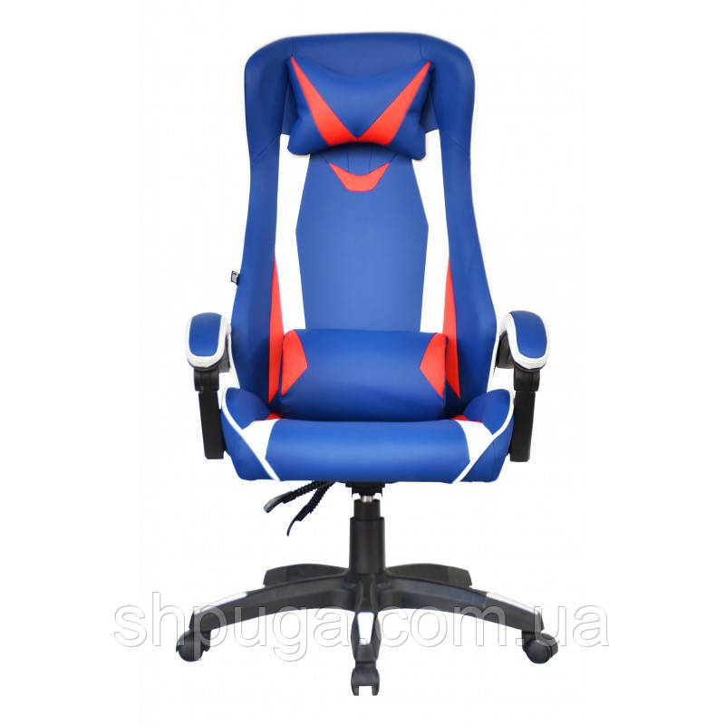 Кресло офисное Special4You ExtremeRace black/dark blue  E 2936