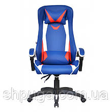 Крісло офісне Special4You ExtremeRace black/dark blue E 2936
