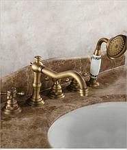 Смеситель для ванной комнаты врезной