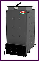 Твердотопливный котел шахтного типа Zubr (Зубр) 12 кВт. Сталь 5 мм.