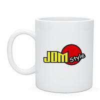 Чашка JDM style, сублимационная печать на кружках недорого