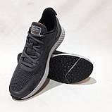 Чоловічі кросівки літні Baas Бас текстиль, сітка на піні літні кросівки, фото 4