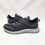Чоловічі кросівки літні Baas Бас текстиль, сітка на піні літні кросівки, фото 5