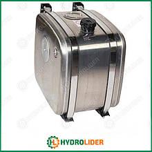 Бак гидравлический (гидробак) бокового крепления 160 л алюминиевый (62х67х40)