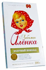 Білоруський шоколад Комунарка молочний Улюблена Оленка 200 грам