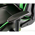 Крісло Special4You ExtremeRace black/green E 5623, фото 6