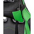 Крісло Special4You ExtremeRace black/green E 5623, фото 7