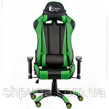 Кресло Special4You ExtremeRace black/green E 5623