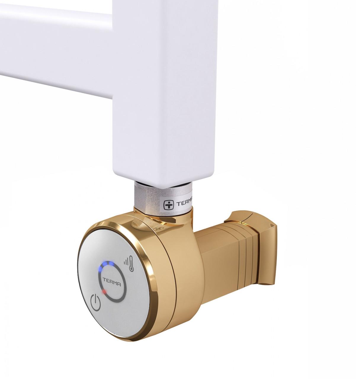 Золотий електротена з таймером до 5 годин (Польща) DRY MS gold + Маскування ел.кабелю. Потужність 1000Вт.