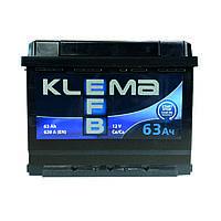 Аккумулятор Klema EFB 6CT-63-0 63Ah/620A R+ 0 (Клема) WESTA (ВЕСТА) Автомобильный АКБ Кислотный Украина НДC