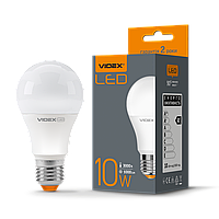 /Лампа LED 10W E27 3000K 220V VIDEX