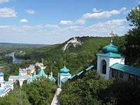 Экскурсия в Святогорск (Славяногорск) из Харькова. Меловые пещеры.
