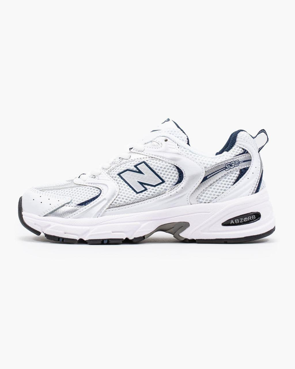 Женские кроссовки New Balance 530 White Silver