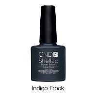 CND Shellac Indigo Frock / синий с серым оттенком, 7,3 мл