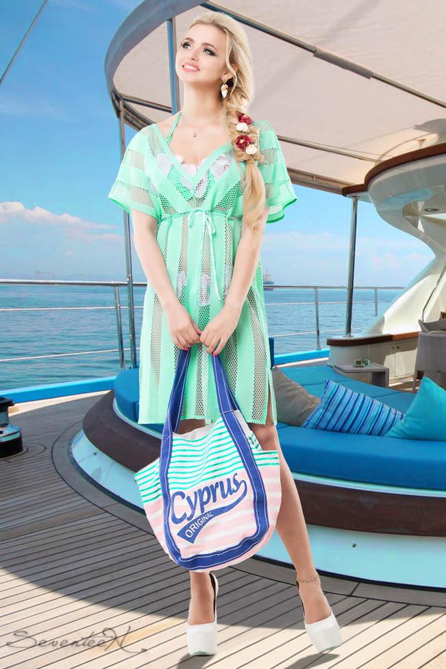 Пляжная накидка женская №650 | S-3XL размер