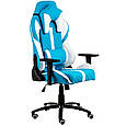 Кресло геймерское еxtrеmеRacе light bluewhite Е 6064, фото 4