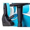 Кресло геймерское еxtrеmеRacе light bluewhite Е 6064, фото 8