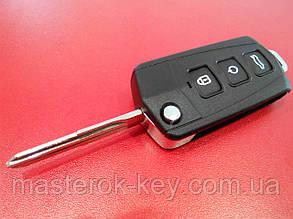 Заготовка выкидного ключа KIA CERATO 3 кнопки, 140#