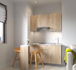 Як облаштувати маленьку 5-метрову кухню в хрущовці в смарт квартирі
