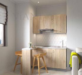 Как обустроить маленькую 5-метровую кухню в хрущевке в смарт квартире