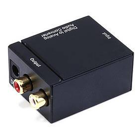 Переходник цифровой в аналоговый FY1315 (Black)   Конвертер аналогово цифровой преобразователь