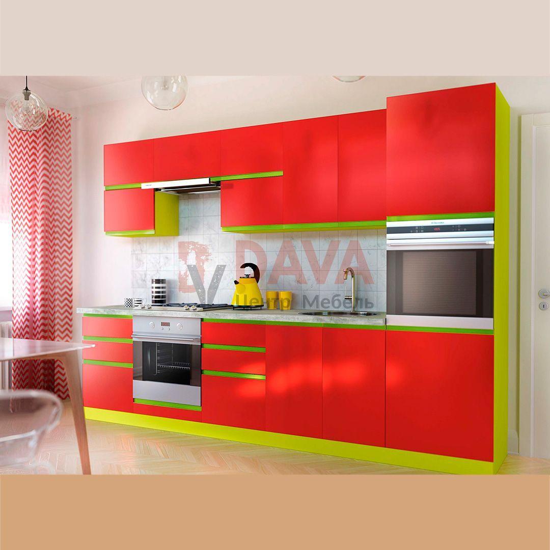 Кухня сучасного стилю Київський Стандарт. Фарбовані фасади МДФ. Набір 2