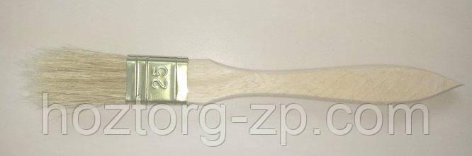 Кисть малярная плоская(флейцевая)25 мм