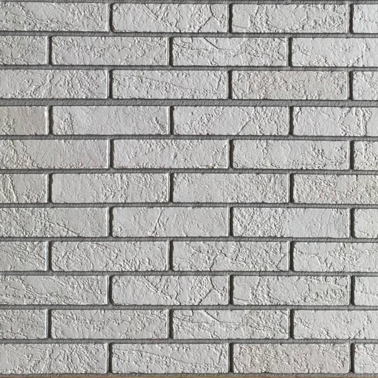 Стінова декоративна пластикова панель ПВХ - ЦЕГЛА ПЕРЛОВИЙ Лофт (960х485) мм