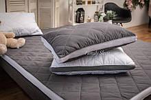 Анатомічна Подушка Strong Sleep 3D collection Gray-White 60x40